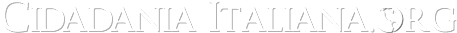 Cidadania Italiana - Assessoria e Traduções - Desde 1996